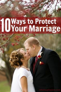 Such great marriage advice! If you want to protect your marriage, these 10 qualities will definitely help married couples.