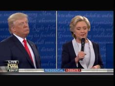 BEST MOMENT OF THE DEBATE: Watch Trump Beat Hillary With These 4 Epic Words... * LIBERTY WRITERS NEWS