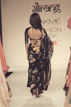 saree blouse idea