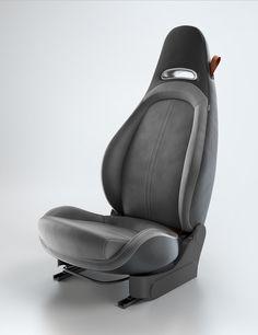 Product Shot – 500 Abarth interior configuration on Behance - Autos und Motorräder Car Interior Design, Automotive Design, Automotive Upholstery, Car Sit, Car Chair, Ergonomic Chair, Futuristic Cars, 3d Max, Product Shot