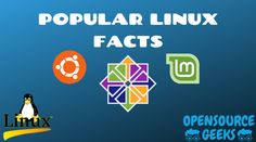 Linux is the most popular and most used open-source operating system around the world. Where do you find Linux and who uses Linux? Let's look at some popular facts about Linux: