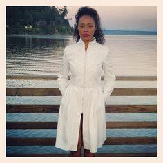 "@dawsondeveraux's photo: ""Millie Coat in Ivory shown @vanfashionweek #fw2014 | for sale mid-September | Ivory twill and fine textured lace detail  Checkout out #ss2015 collection Sept 16th at 8pm #vanfashionweek #vancity  #dresscoat #fashion #instafashion #streetchic #iamfashion #iamsofancy #livinginstyle #fashiondesign #fashiondesigner #readytowear #vfwbeauty #fallfashion #highfashion #designerfashion #style #chic #forsale #lace"""