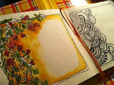 journal pages ~ Joanne Sharpe & Whimspirations