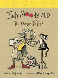 Judy Moody M.D. The Doctor Is In! by Megan McDonald 8 Copies