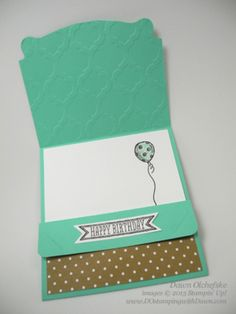 Pop'n Cut Gift Card Holder