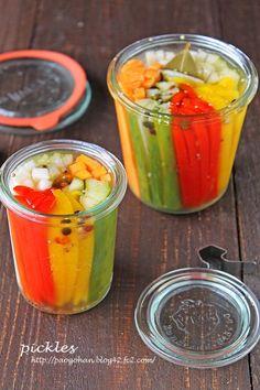 野菜が美味しく食べられるパリポリピクルス☆カンタン常備菜