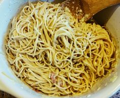 In The Kitchen With Cate: Spaghetti Carbonara (Original Recipe by Martha Stewart)
