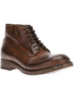 SILVANO SASSETTI Leather Lace Up Boot