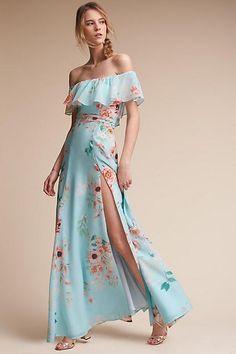 Anthropologie Laguna Wedding Guest Dress