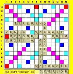 PĂTRĂŢICĂ-blog-Petrică-Aidimireanu: SCRABBLE: Partida 11 - Turul 10 Scrabble, Blog