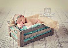 Newborn Headband: Newborn Photo Prop - Flower Halo Tieback, Newborn Crown, Newborn Bonnet, Natural Organic Photography Props on Etsy, $15.00