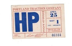 Portland Traction (1943)