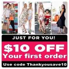 Any first time purchase for new customers. Receive $10 off