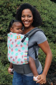 Tula Baby Carriers | Baby Wraps — Pineapple Palm - Tula Ergonomic Carrier