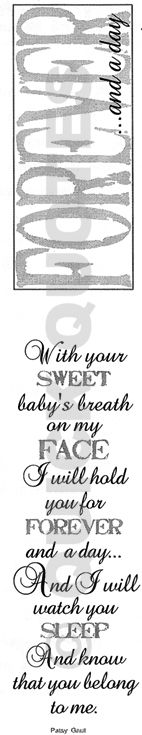 For my baby