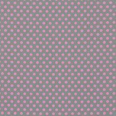kankaita.com Cotton Soft Dots 30 - Puuvilla - harmaa
