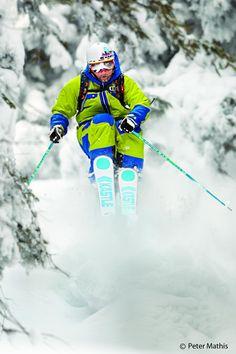 Powder Loving - Sascha Schmid - Warren Miller skier