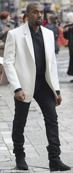 Kanye West, scored the repeat on Tuesday as he again topped the GQ poll for Most Stylish Man of Dope Fashion, Mens Fashion, Fashion Ideas, Fashion Tips, Kanye West Songs, Most Stylish Men, Stylish Man, Kanye West Style, Today's Man