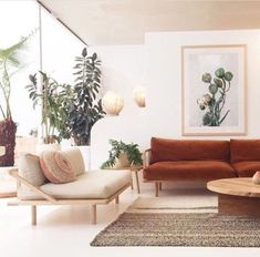Minimalist Living Room Interior Design You Can Try Now 36 Living Room Goals, My Living Room, Living Room Interior, Home And Living, Living Room Decor, Earthy Living Room, Van Living, Interior Livingroom, Home Interior