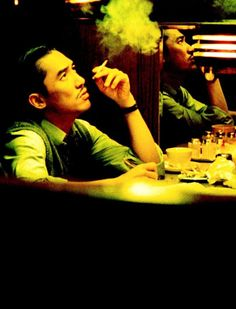 Tony Leung in 2046, dir. Wong Kar-Wai. One of my favourite Actor/Director combos. Not forgetting Christopher Doyle's amazing Cinematography. Love everything they have done together.