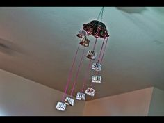 Recycled: Wind Chime Craft made out of Plastic Cups - YouTube