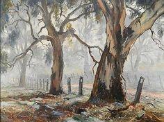 Terry Gleeson, Sydney / I've always loved Terry Gleeson's work Watercolor Landscape Paintings, Landscape Artwork, Watercolor Trees, Australian Painting, Australian Artists, Tree Artwork, Aboriginal Art, Artist Art, Fine Art