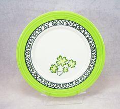 Vintage Obrarte Ceramica Four Leaf Clover by RichardsRarityRealm, $10.00