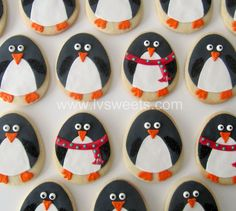 penguins!! L Sweets : Couture Cookies