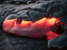 Fire: Lava from Kilauea, Hawaii Mother Earth, Mother Nature, Cool Pictures, Cool Photos, Amazing Photos, Lava Flow, Wild Nature, Weekend Fun, Fire And Ice