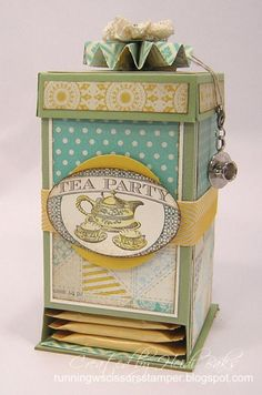 Tea Bag Dispenser Box
