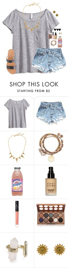 """RTD Please"" by madison426 ❤ liked on Polyvore featuring H&M, J.Crew, Alex and Ani, Bobbi Brown Cosmetics, NARS Cosmetics, NYX, Kendra Scott and Bielka"