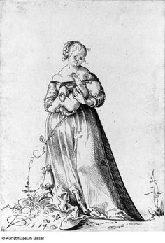 Artist: Graf, Urs, Title: Mutter mit Kind in den Armen, Date: 1514 (mother holding child in her arms)