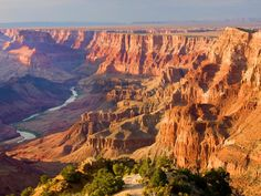 Out west, the landscapes are vast and beautiful. There's no place better to check them out than at these National Parks.