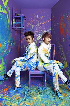 SUB UNIT : INFINITE H (Hoya and DongWoo from Infinite)  One group that I've loved recently. Singing Blues-Hip Hop songs.