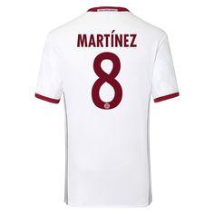 Bayern Munchen 2016/17 3RD Away Men Soccer Jersey MARTINEZ #8