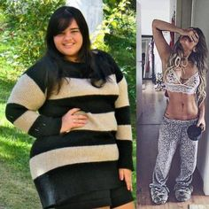 "2,469 Likes, 46 Comments - How to Lose Weight Quick! (@prime8nutritions) on Instagram: ""Amazing transformation by @thaynabarboza. Let's show her some,!love ❤️ Credit ⏩ @thaynabarboza ⏪ -…"""