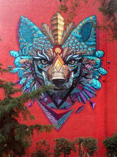 Mexicano arte, coyote
