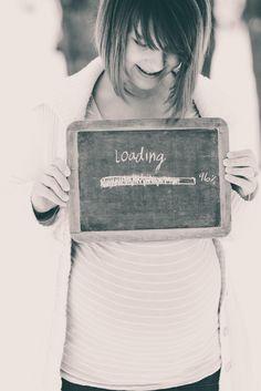 """loading"" haha... very cute!"