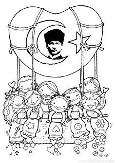 10 Kasım Etkinliği Kalıbı   OkulöncesiTR-Preschool