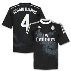 ef03690e536 Sergio Ramos Soccer Jersey. Real Madrid ...