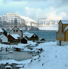 Gjogv, Faroe Islands.