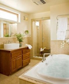 Bath at a guest room at Brampton Bed and Breakfast Inn - Chestertown, MD