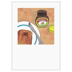 Marmite & Toast Print http://www.howkapow.com/marmite-toast-print