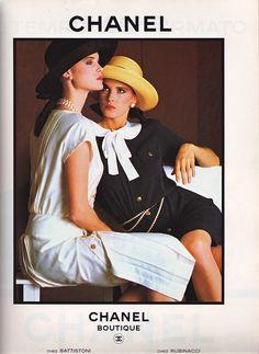 Chanel Ad Vogue Italia Feb 1983