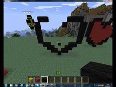 minecraft como hacer un corazon - YouTube
