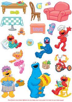 Welcome to Dover Publications Sesame Street Muppets, Sesame Street Characters, Sesame Street Party, Preschool Cubbies, Preschool Themes, Elmo Wallpaper, Cartoon Wallpaper, Jim Henson Puppets, Cubby Tags