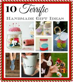 10 terrific handmade gift ideas for Christmas