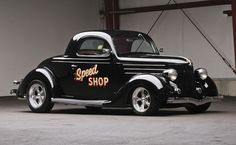 photos of 1936 ford coupes   1936 Ford Custom Three-Window Coupe