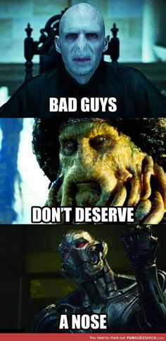The truth of bad guys