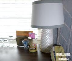 For My Love Of blog | DIY Vase Lamp Tutorial | http://formyloveof.net